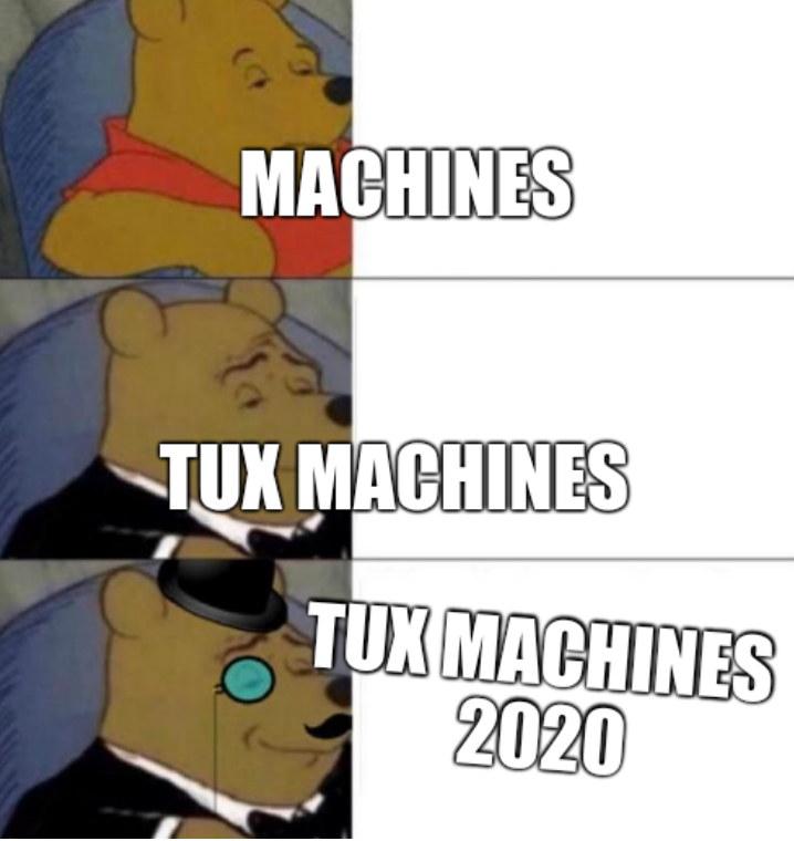 Tux Machines 2020