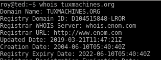 Tux Machines domain