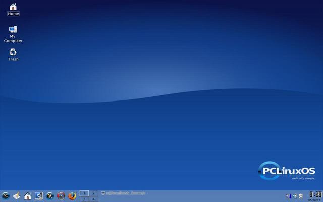 أفضل توزيعة لينكس على الاطلاقpclinuxos2007 Desktop