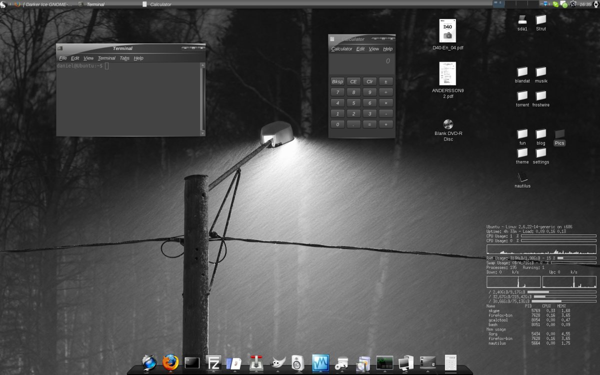 9 Steps: Make a ultra cool and good looking desktop for your Ubuntu Linux  machine in 30 minutes