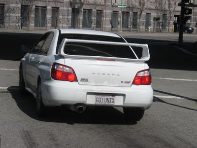 10 Cool Unix/Linux Personalized License Plates