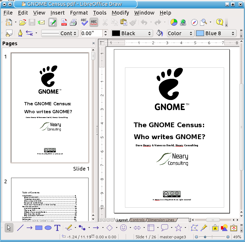 how to add new slide in libreoffice