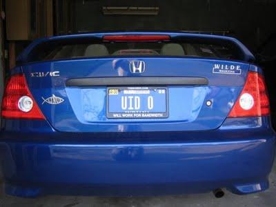 cool custom license plates